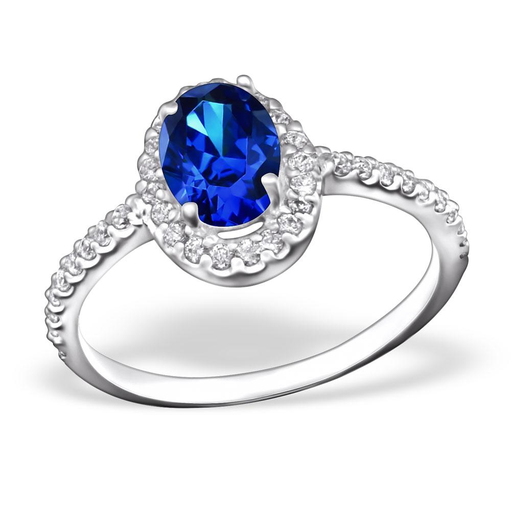 OLIVIE - stříbrný prsten 0148 Velikost: 8 (EU: 57 - 58)