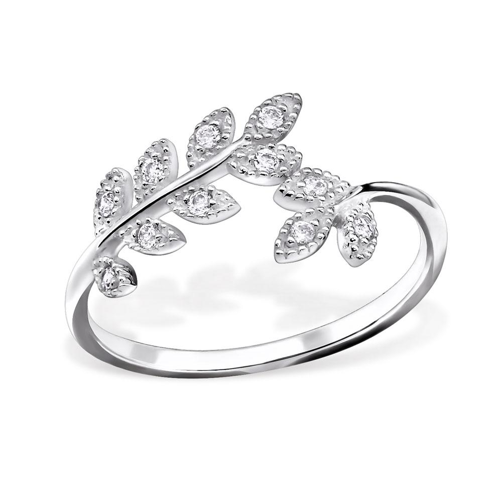 OLIVIE - stříbrný prsten 0149 Velikost: 8 (EU: 57 - 58)
