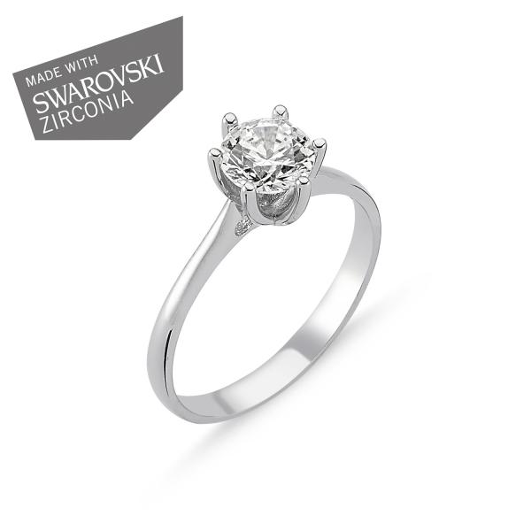 OLIVIE Stříbrný prsten EMMA 1728 Velikost prstenů: 5 (EU: 47 - 50)