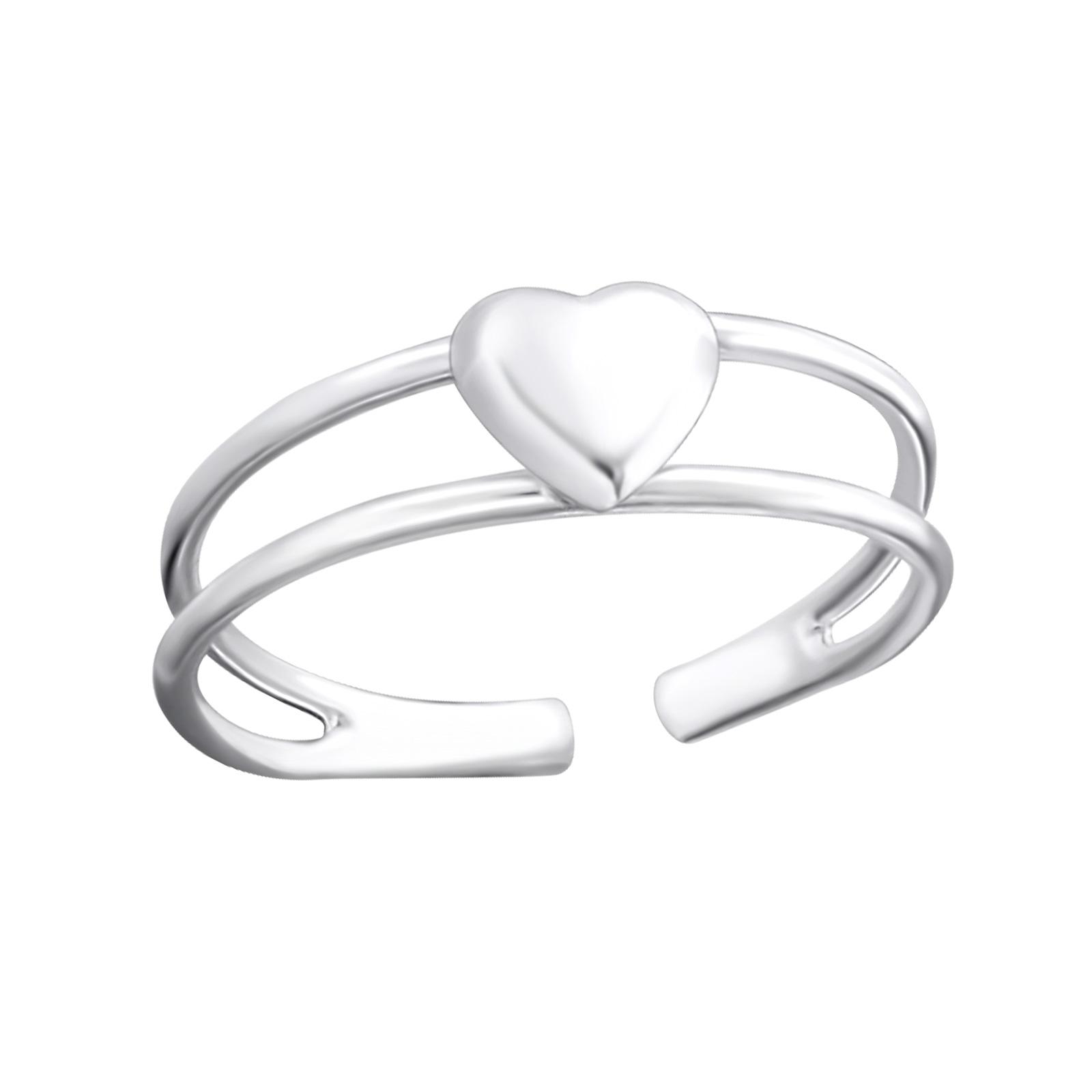 OLIVIE Stříbrný prsten na nohu 1792