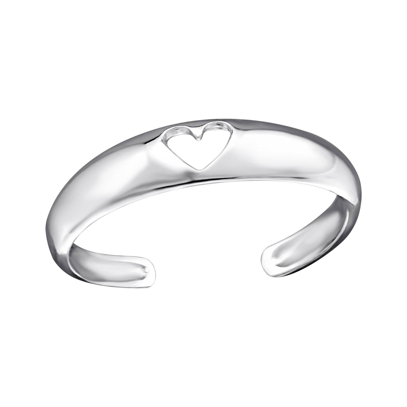 OLIVIE Stříbrný prsten na nohu 1793