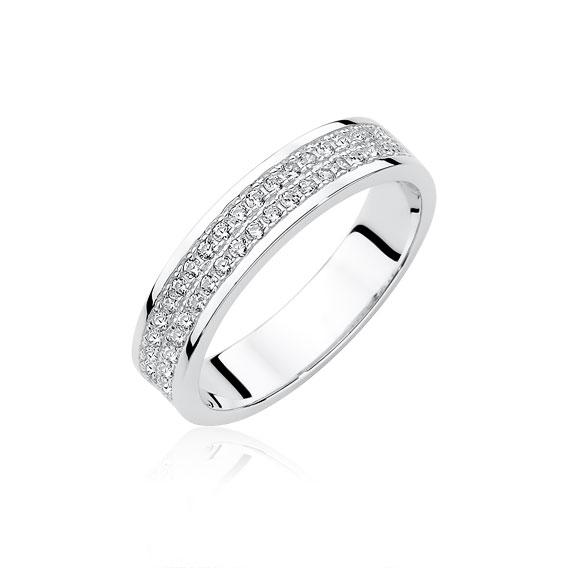 OLIVIE Stříbrný prsten se zirkony 1951 Velikosti prstenů  5 (EU  49) 65cc479e70