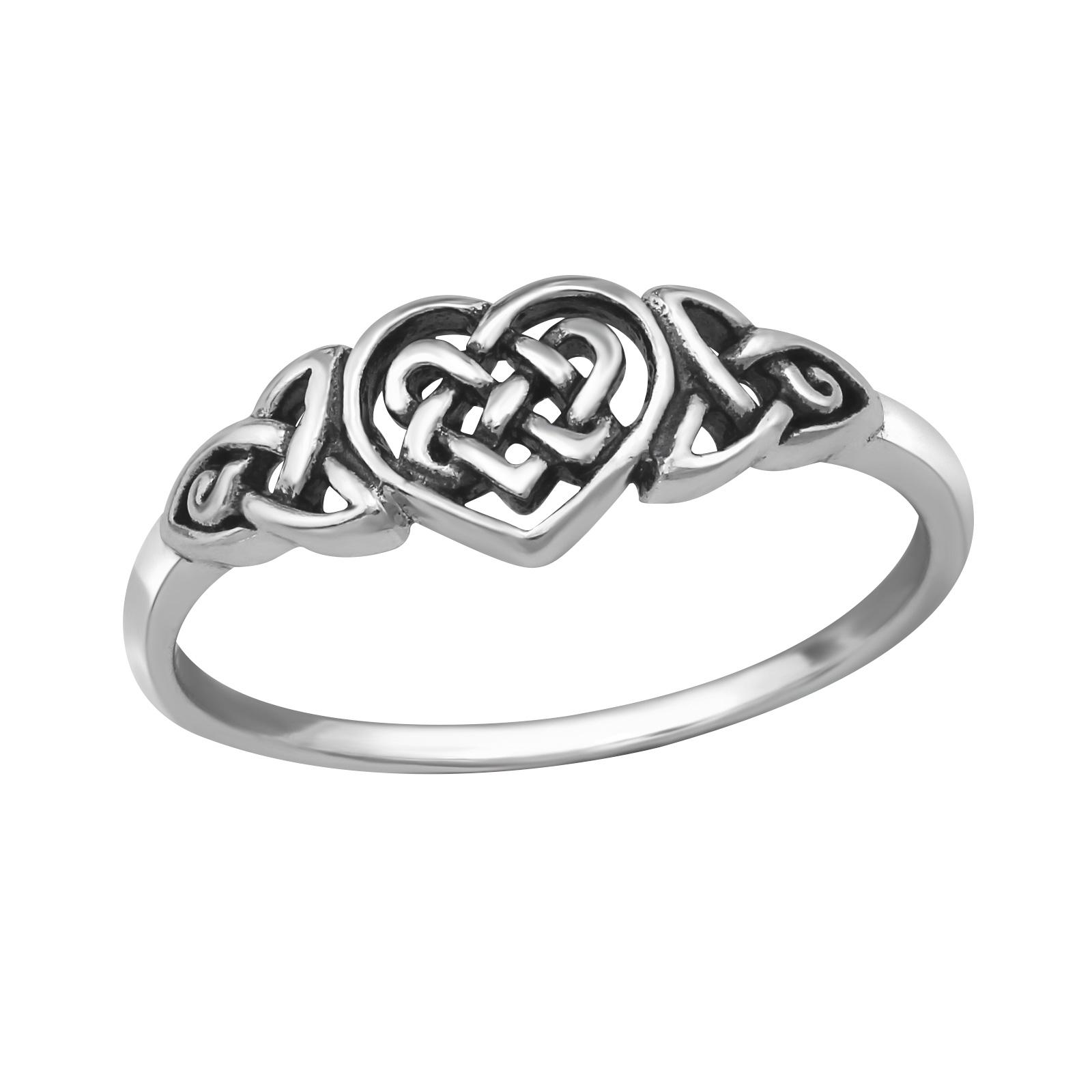 OLIVIE - stříbrný prsten 0202 Velikost: 8 (EU: 57 - 58)