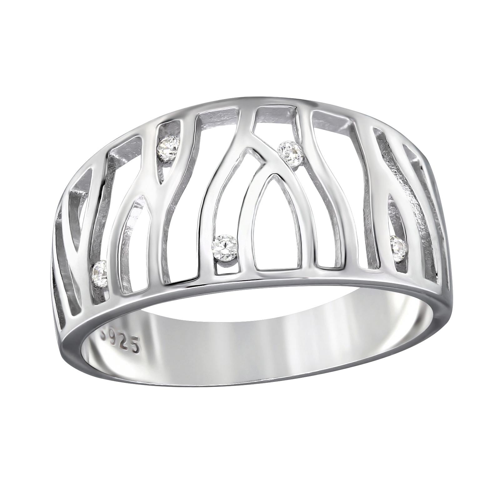OLIVIE - stříbrný prsten 0203 Velikost: 7 (EU: 54 - 56)
