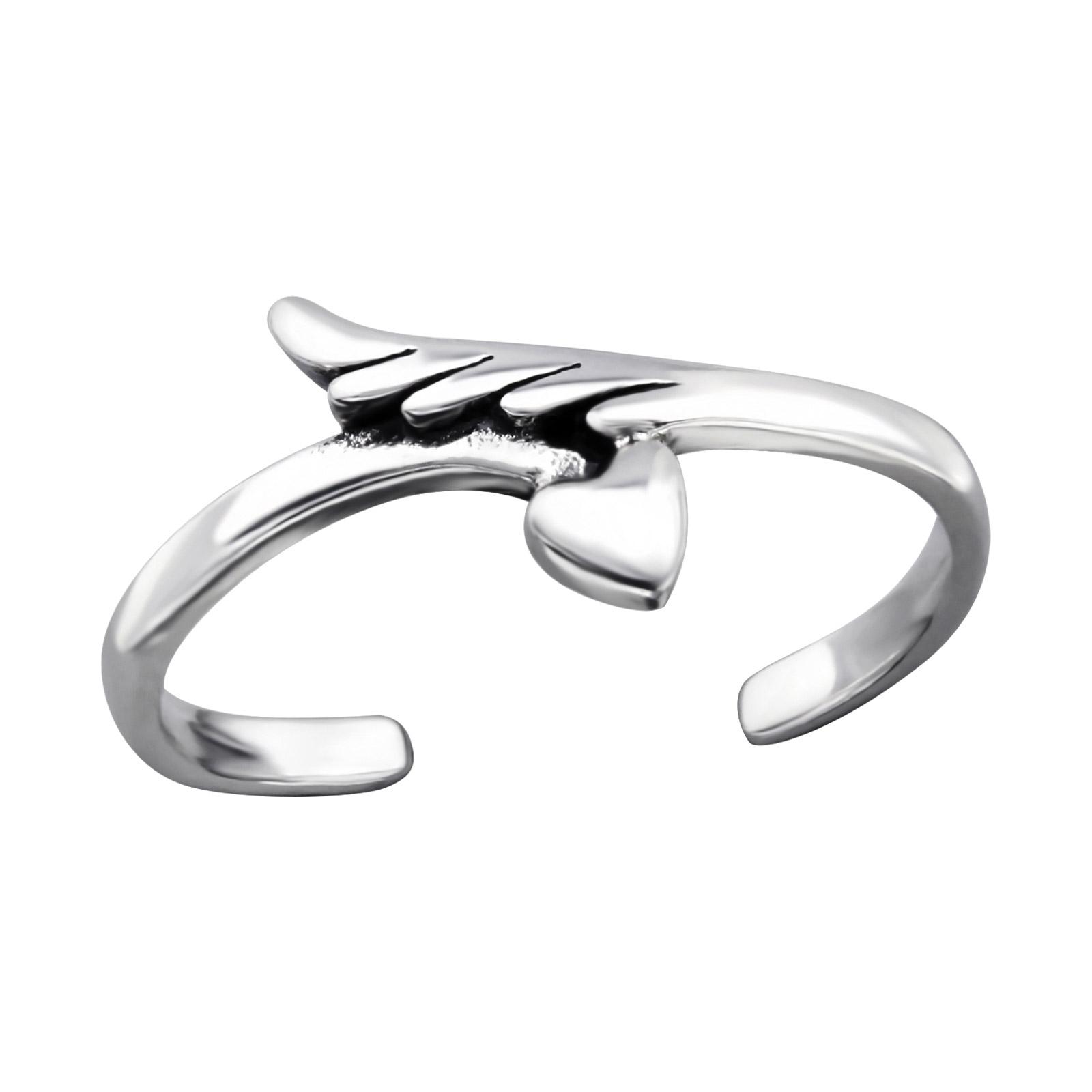 OLIVIE Stříbrný prsten na nohu 2091