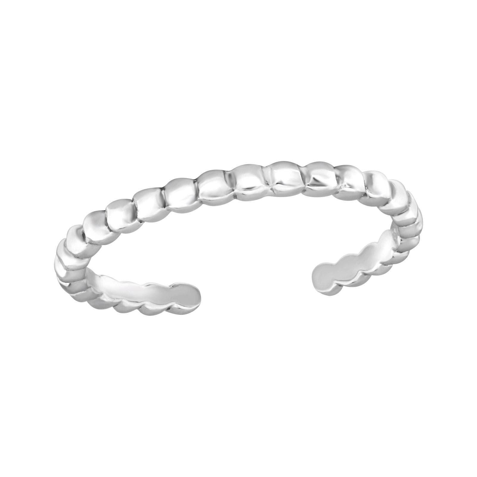 OLIVIE Stříbrný prsten na nohu 2095