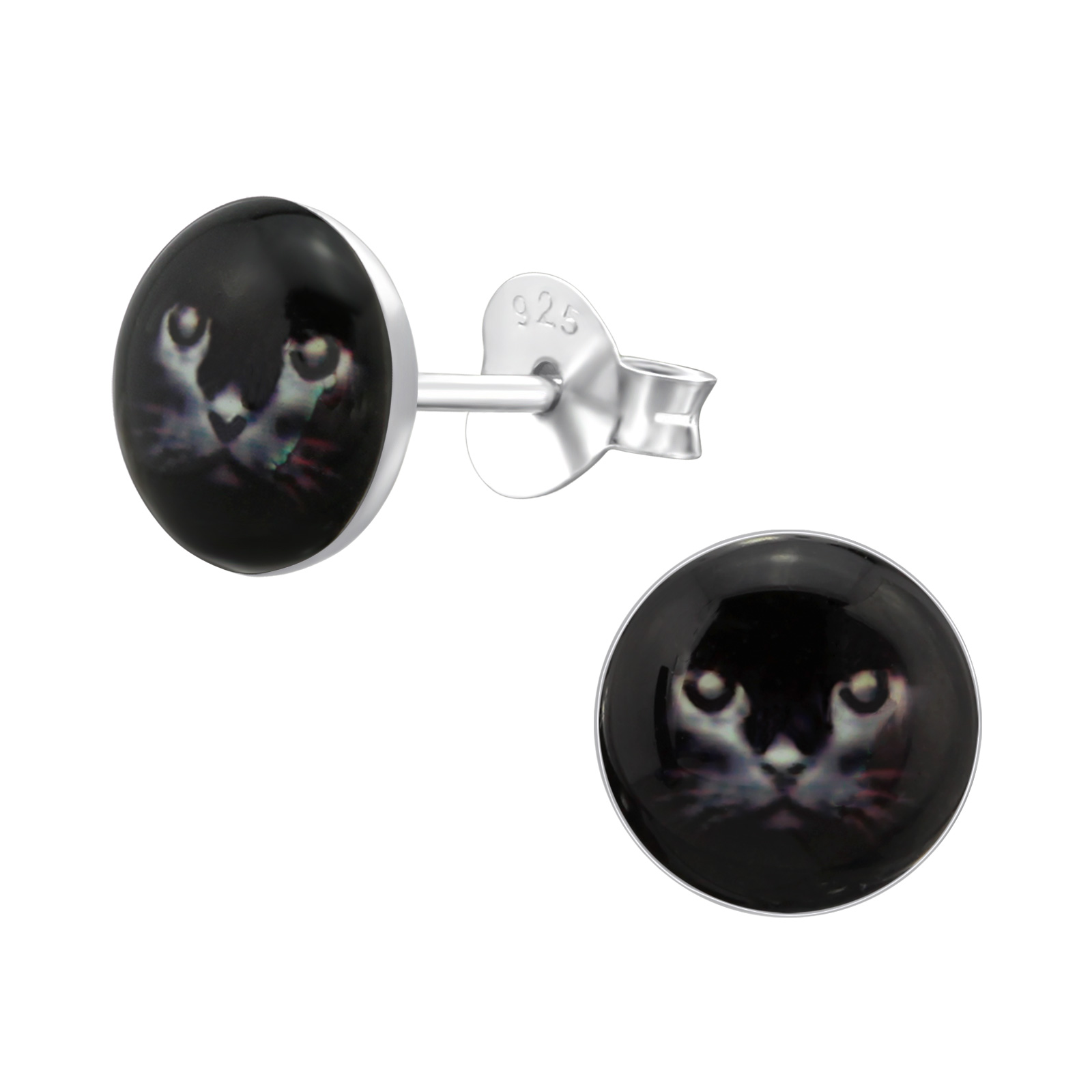 černá dívka kočička otevřené