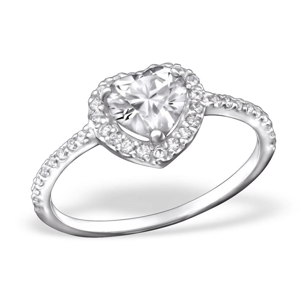 OLIVIE - stříbrný prsten 0224 Velikost: 8 (EU: 57 - 58)