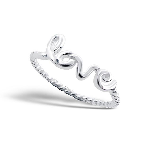 OLIVIE - stříbrný prsten 0231 Velikost: 8 (EU: 57 - 58)