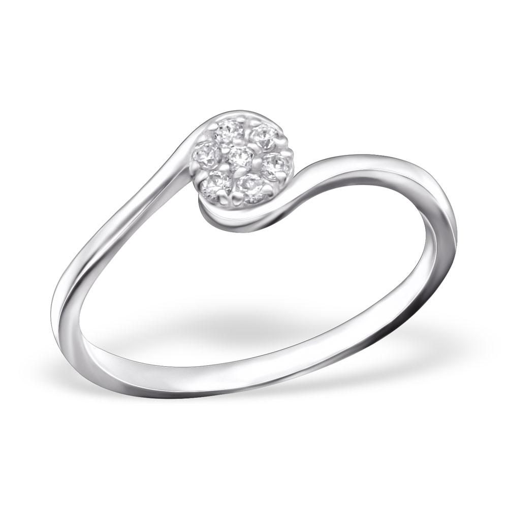 OLIVIE - stříbrný prsten 0232 Velikost: 8 (EU: 57 - 58)