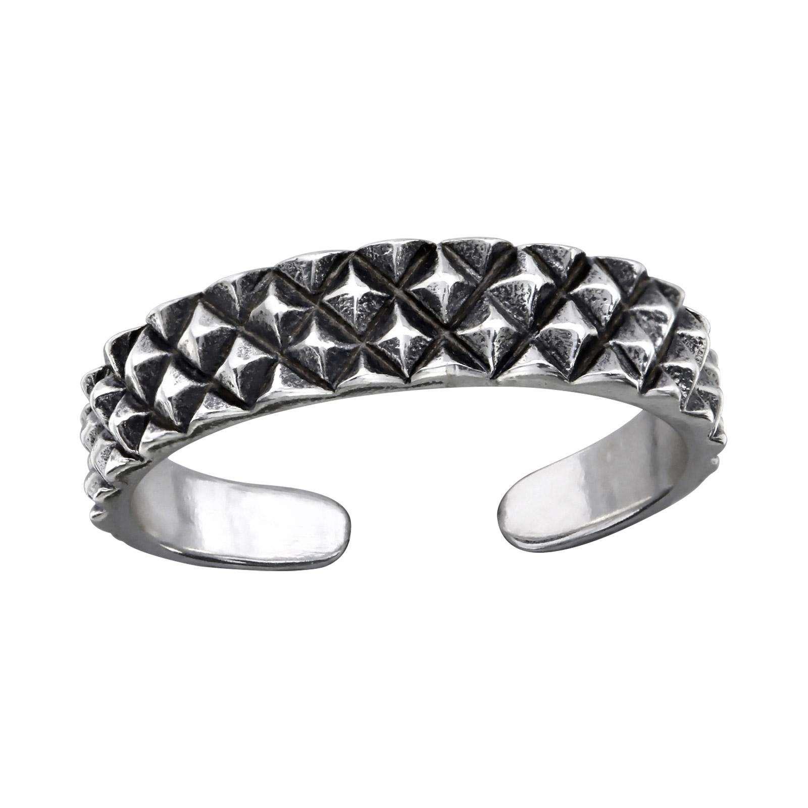 OLIVIE Stříbrný prsten na nohu 2486