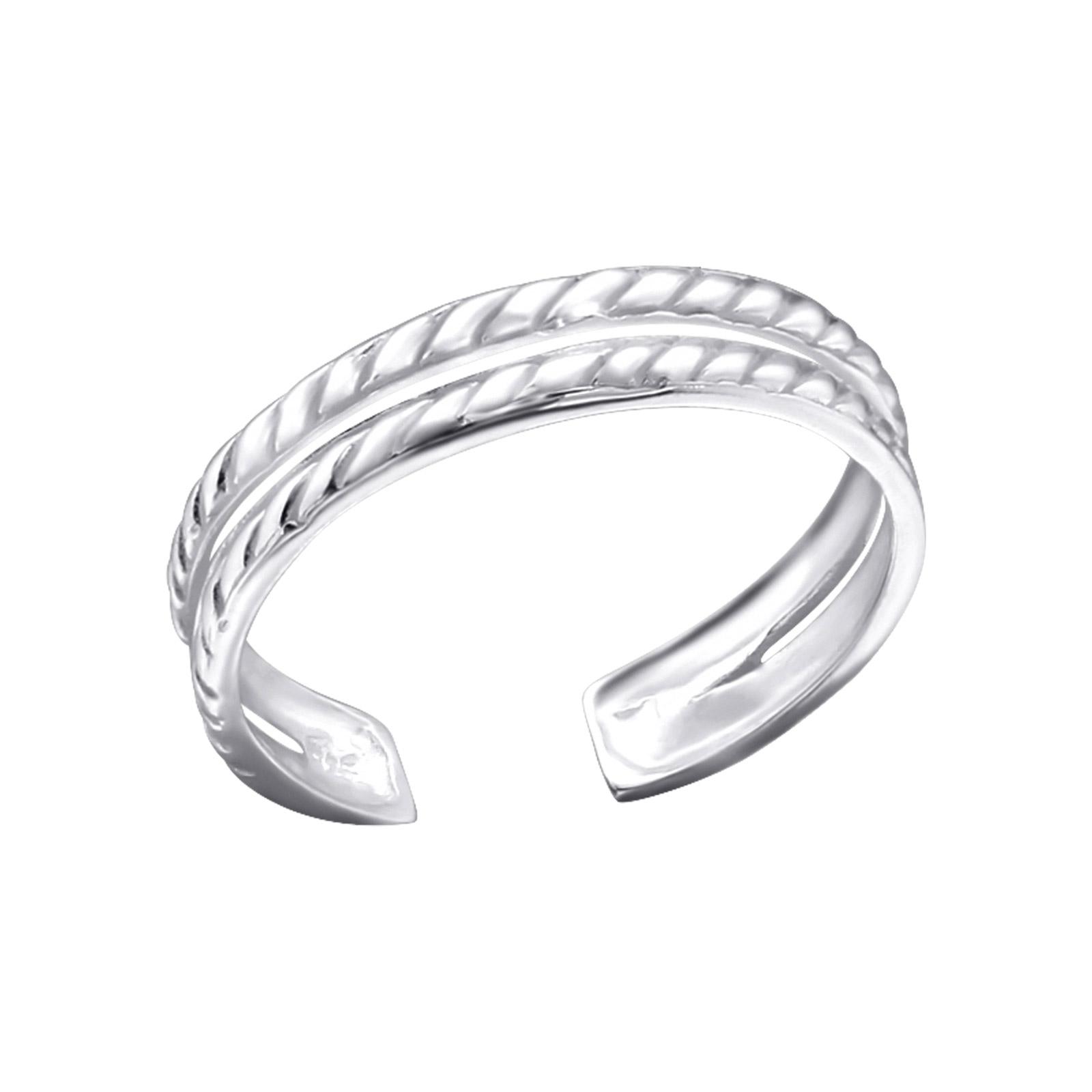 OLIVIE Stříbrný prsten na nohu 2740