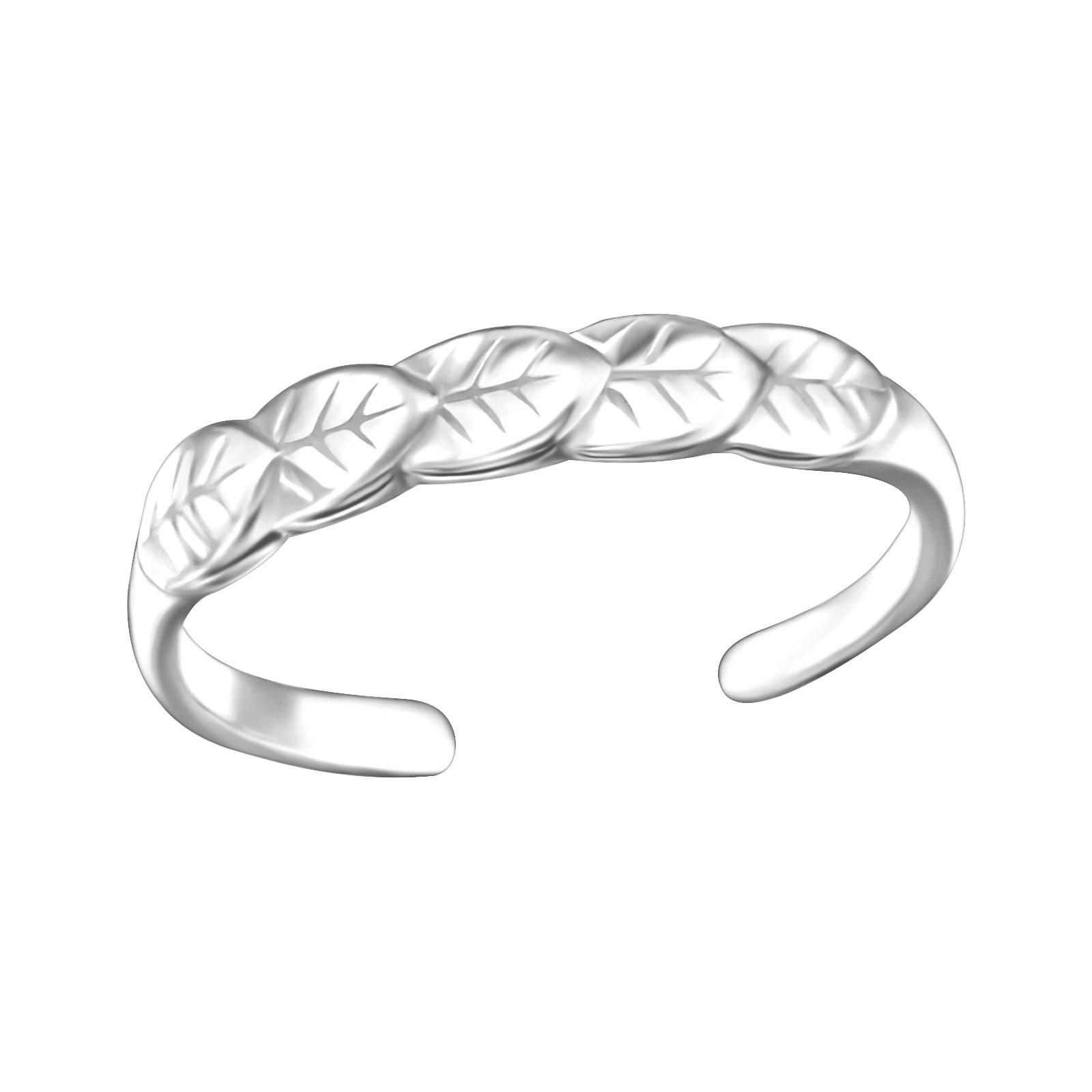 OLIVIE Stříbrný prsten na nohu 2754