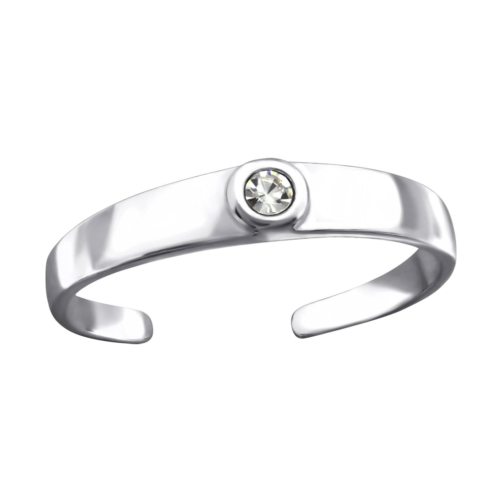 OLIVIE Stříbrný prsten na nohu 2756
