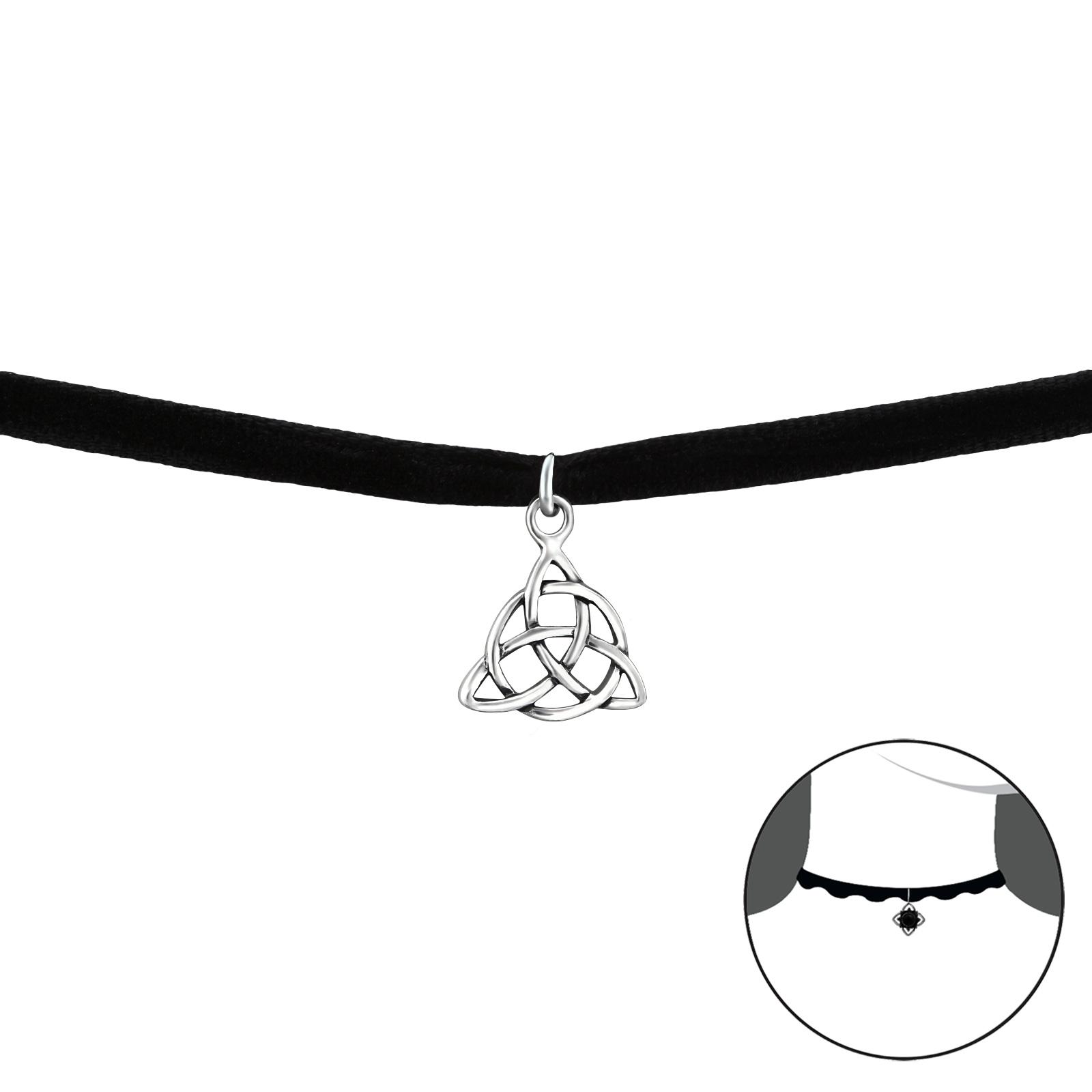 OLIVIE CHOKER náhrdelník KELTSKÝ SYMBOL 2758