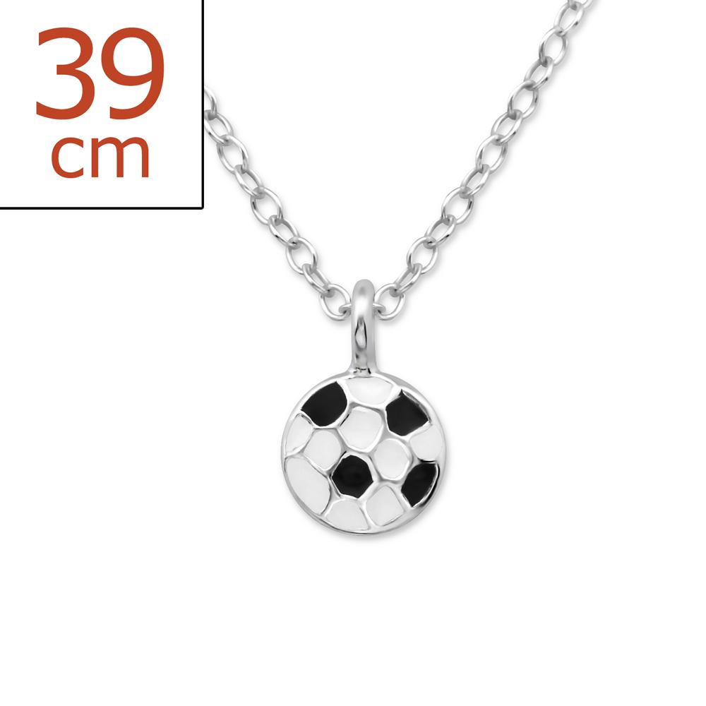 OLIVIE - Dětský stříbrný řetízek MÍČ 0288