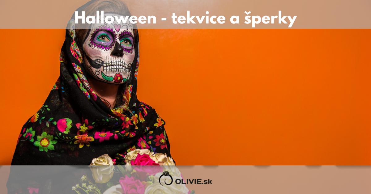 Halloween - tekvice a šperky