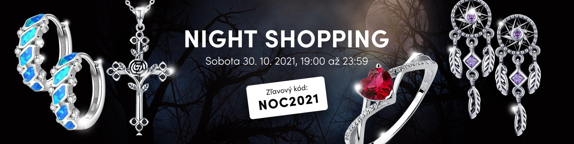Historicky druhý Night Shopping na OLIVIE.sk