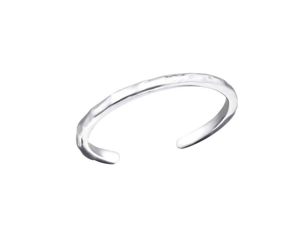 1340 Strieborný prsteň na nohu