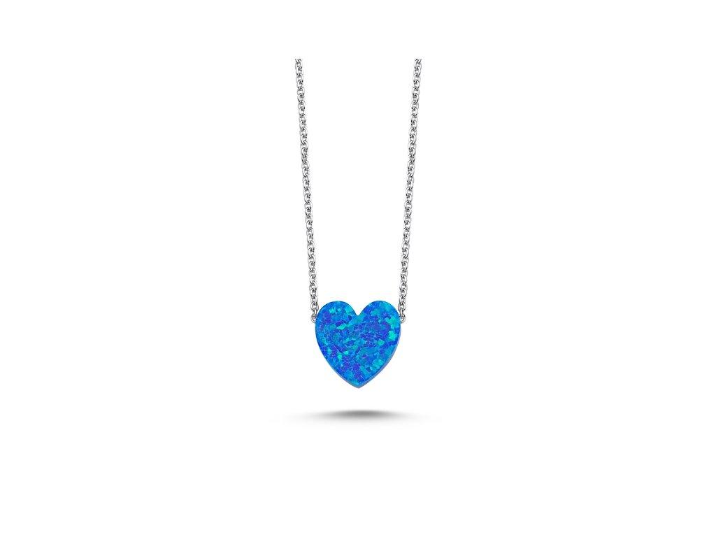 2337 Strieborný náhrdelník SRDCE