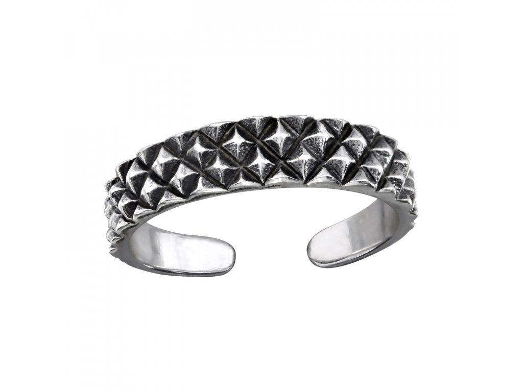2486 Strieborný prsteň na nohu