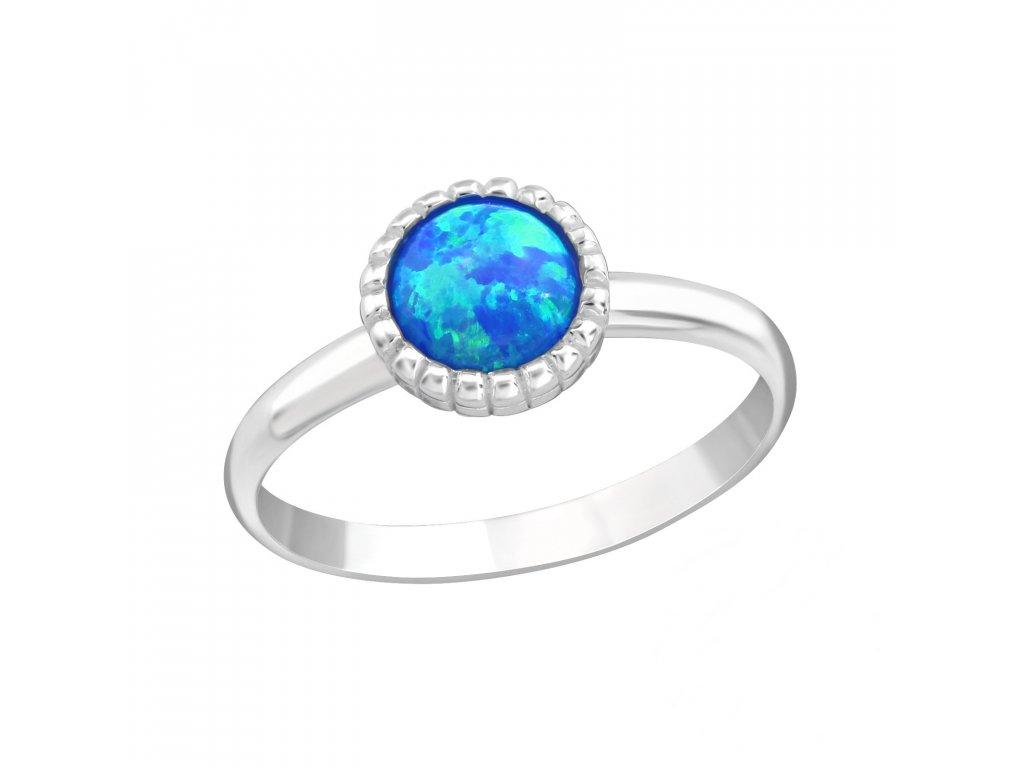 15620 detsky stribrny prstynek modry opal od olivie