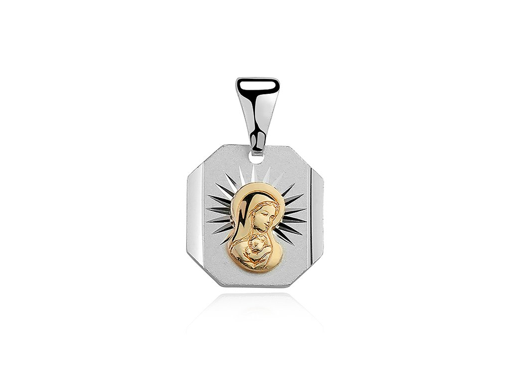 19357 stribrny privesek panna marie od olivie cz
