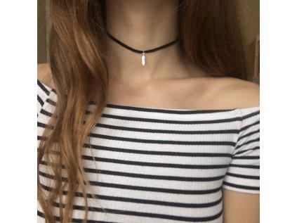 0118 Choker náhrdelník PIERKO