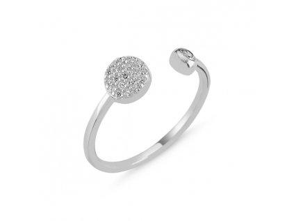 2302 Strieborný prsteň - nastaviteľná veľkosť