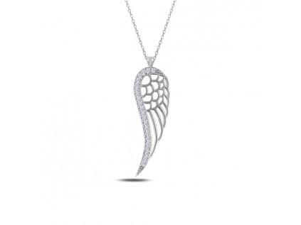 2331 Strieborný náhrdelník anjelské krídla