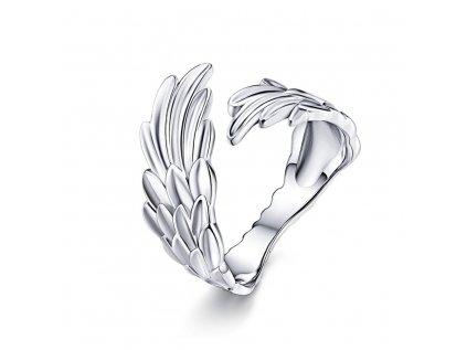 2884 KRÍDLA strieborný prsteň