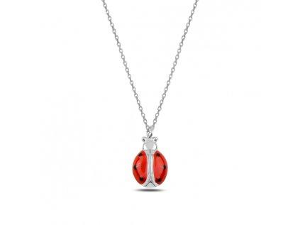 3352 Strieborný náhrdelník LIENKA