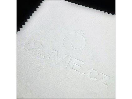 3736 Biela čisticia utierka - hadrík na striebro