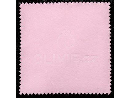 3737 Ružová čisticia utierka - hadrik na striebro