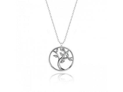Strieborný náhrdelník STROM ŽIVOTA