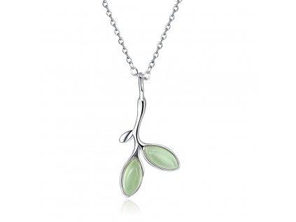 4126 Strieborný náhrdelník OLIVA