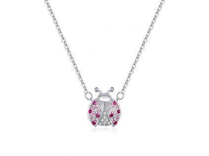 4239 Strieborný náhrdelník LIENKA