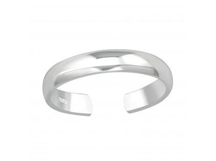 15641 stribrny prsten na nohu od olivie