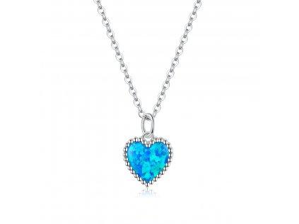 15839 stribrny nahrdelnik opalove srdce od olivie