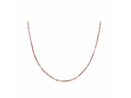 16346 1 choker rose kulickovy stribrny retizek od olivie