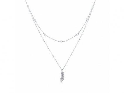 5154 Strieborný náhrdelník PIERKO OLIVIE.sk