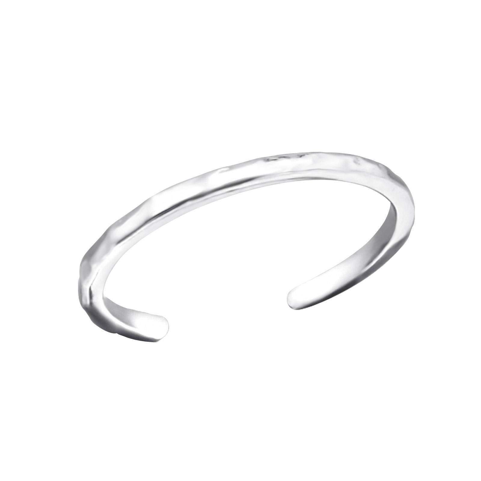 OLIVIE Strieborný prsteň na nohu 1340 Ag 925; ≤0,55 g.