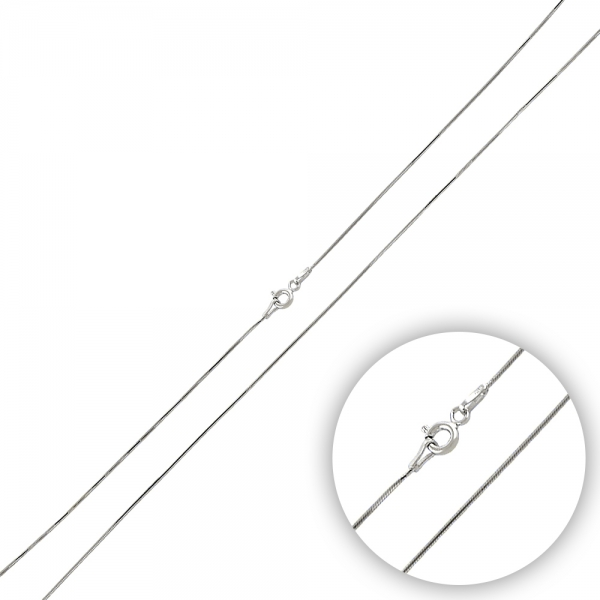 OLIVIE Strieborná retiazka SNAKE 50cm 2595 Ag 925; ≤2 g.