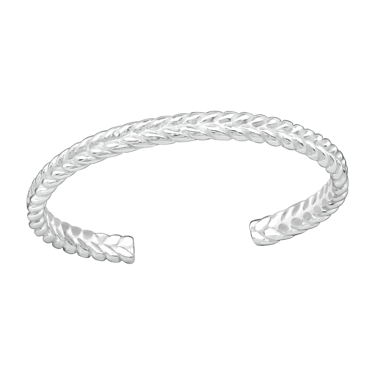 OLIVIE Strieborný prsteň na nohu 2755 Ag 925; ≤0,40 g.
