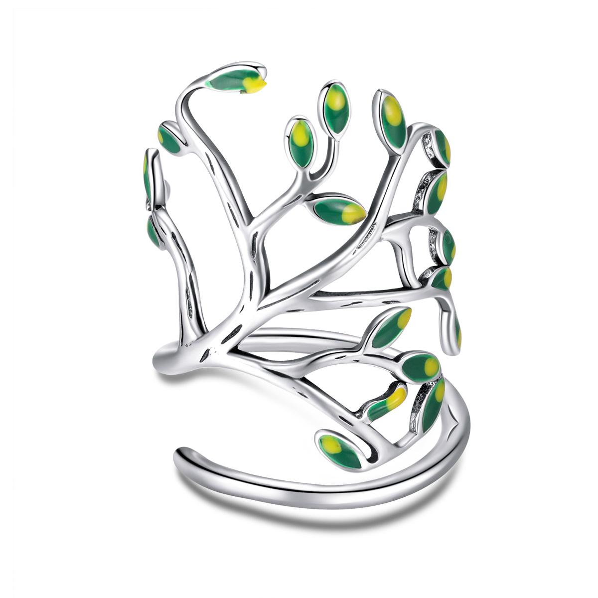 OLIVIE Strieborný prsteň STROM ŽIVOTA 2956 Ag 925; ≤3,3 g.