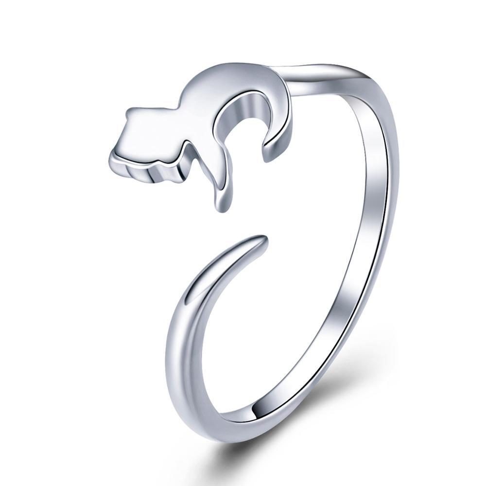 OLIVIE MAČKA strieborný prsteň 3422 Ag 925; ≤1,6 g.