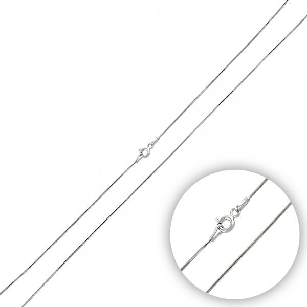 OLIVIE Strieborná rhódiovaná 45 cm retiazka 3479 Ag 925; ≤1,94 g.