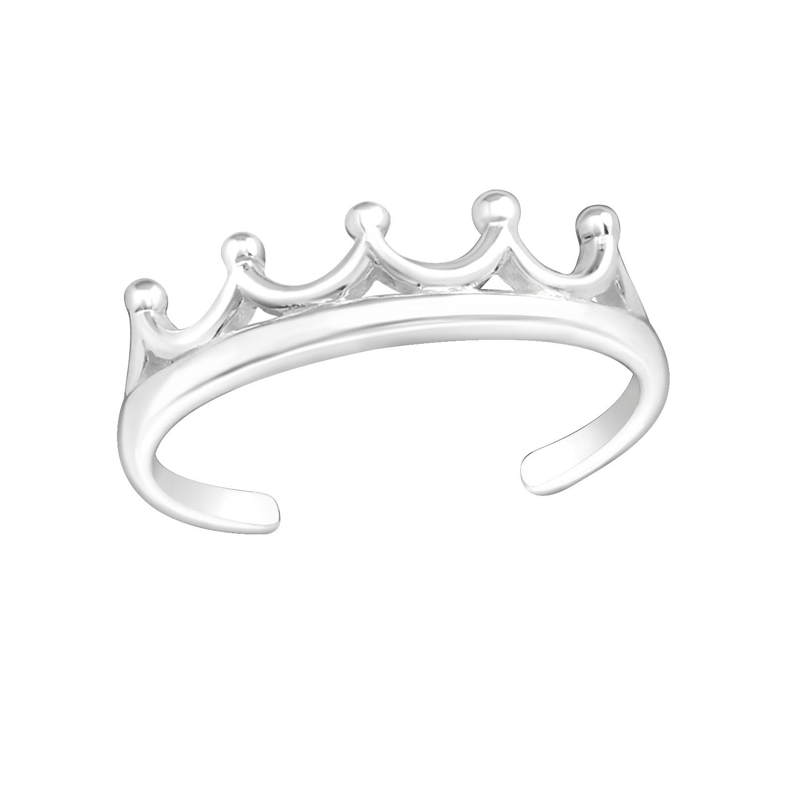 OLIVIE Prsteň NA NOHU KORUNKA 4002 Ag 925; ≤0,7 g