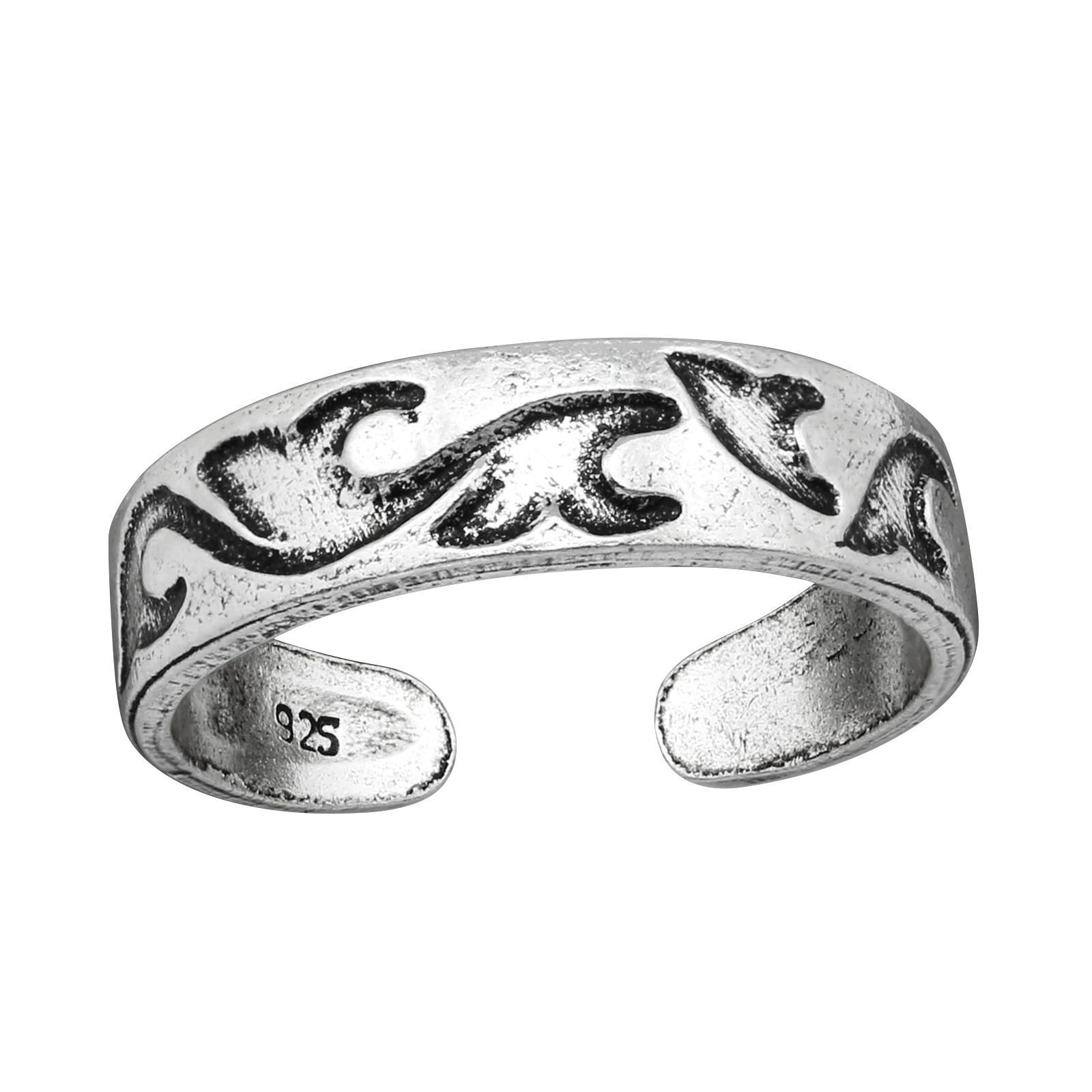 OLIVIE Strieborný prsteň NA NOHU 4008 Ag 925; ≤1,4 g.