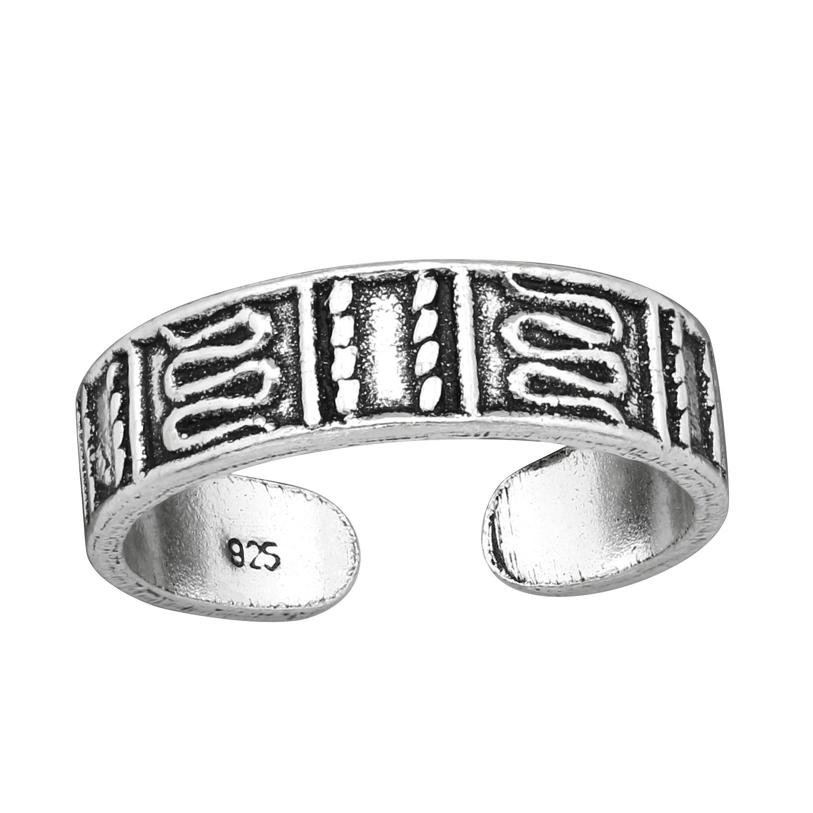 OLIVIE Strieborný prsteň NA NOHU 4009 Ag 925; ≤1,6 g.